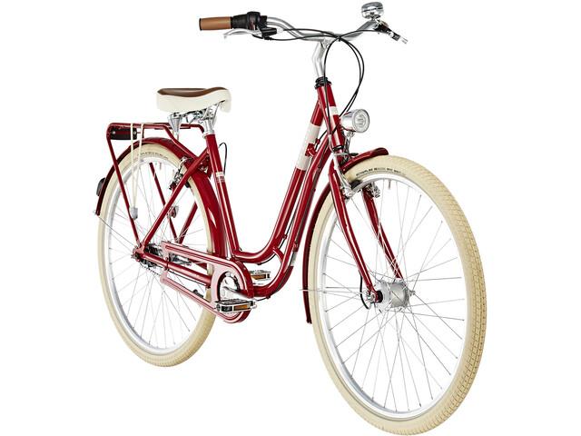 Ortler Summerfield 7 Citybike Damer rød (2019) | City-cykler